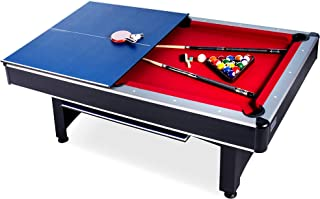 Rack Scorpius 7-Foot Billiard/Pool and Table Tennis Multi Game Table