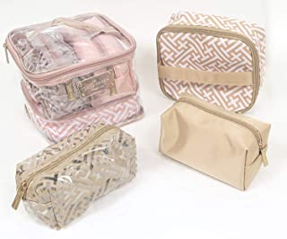 Women Christmas cosmetic bags gift set, and a free gift for you happy holiday.