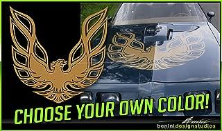Pontiac Firebird Trans Am Hood Bird Custom Decal 45