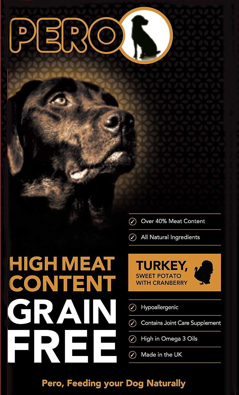 Pero GrainFree Turkey & Sweet Potato with Cranberry 12kg