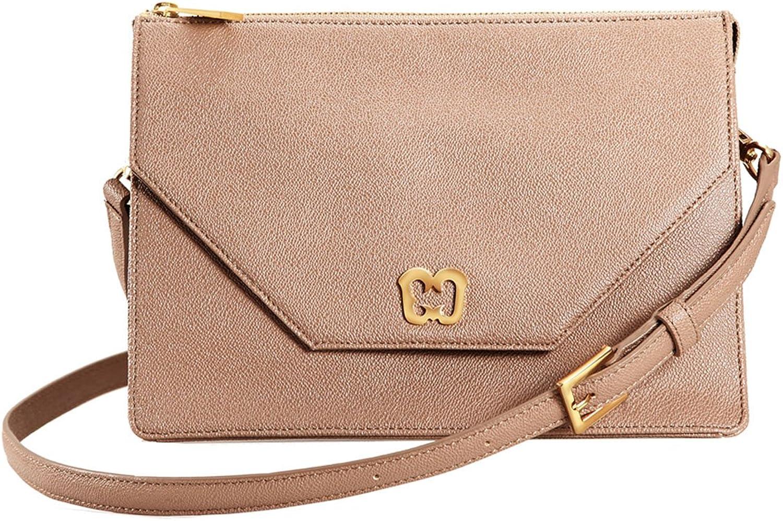Eric Javits Designer Women's Luxury Handbag Krysta Latte