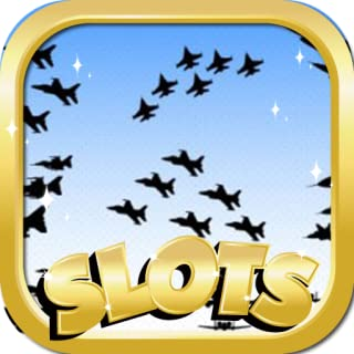 Casino Slots For Free : Air Force Musicplayer Edition - The Best New & Fun Video Slots Game For 2015!