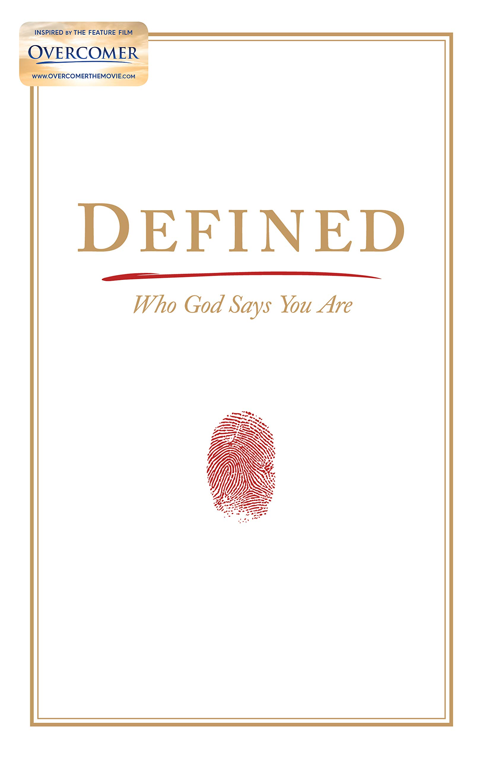 Image OfDefined: Who God Says You Are