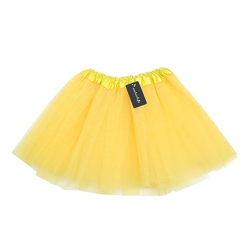 b20ecf2cc8a6 Yellow Tutu for Girls  Amazon.com