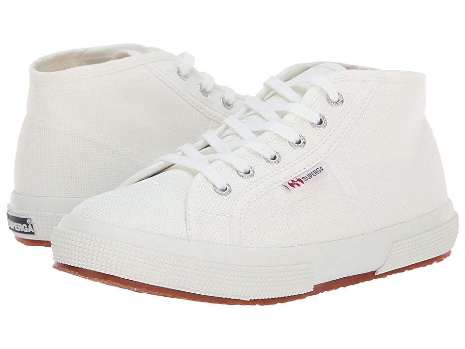 Superga Kids 2754 JCOT Classic (Toddler/Little Kid) (White) Kid