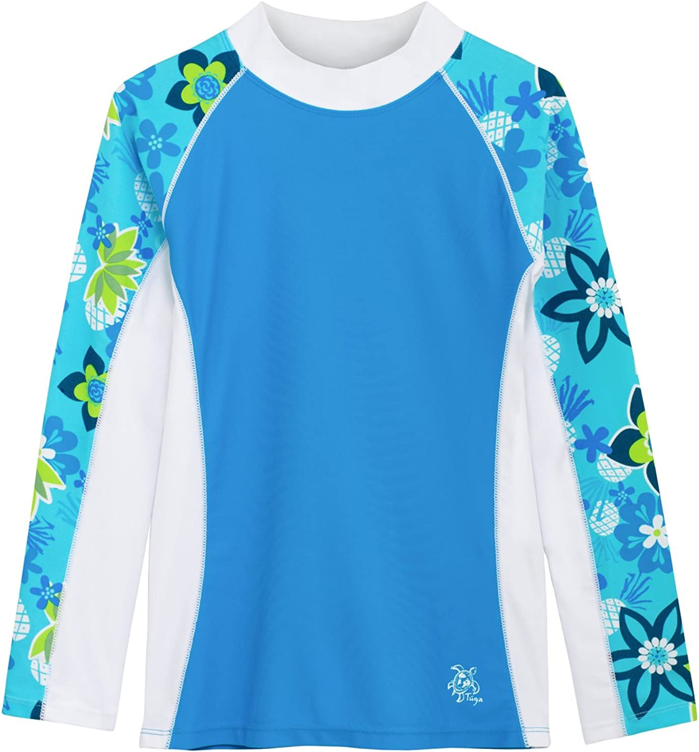 Tuga Girls Long Sleeve All items in the Ranking TOP15 store Rash Guards Years 50+ UPF Prote 1-14 Sun