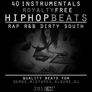 40 Instrumentals Royalty Free (Hip-Hop Rap R&B Dirty South Beats Instrumental)