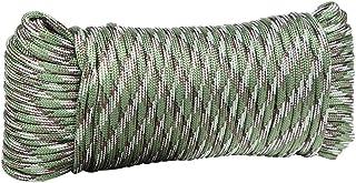 Corda da Alpinismo 4 Millimetri Flessibile 9-Core Sopravvivenza Strap Antiscivolo Portatile Corda Escursione Esterno Che, ...