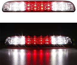 For Ford Explorer/F-250 F-350 Super Duty/Ranger/Mazda B series 3rd Third 3rd Brake Cargo Light Center High Mount Dual Row LED Lamp Tail Light Electroplating Housing (Red)