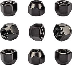 20X Negro Tuercas Madre para Llantas M12x1, 5 SW19
