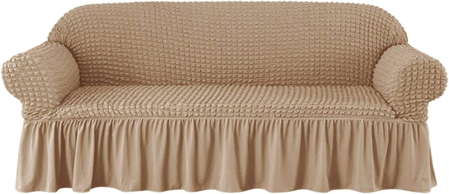 HALOUK Stretch Sofa Slipcover with Skirt 1 Piece Uni Cover Couch 限定特価 超目玉