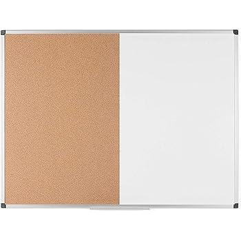 Cork Board with Aluminium Frame Classic 60 x 40 cm