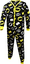 Batman Women's Ladies Union Suit One Piece Pajama with Butt Flap