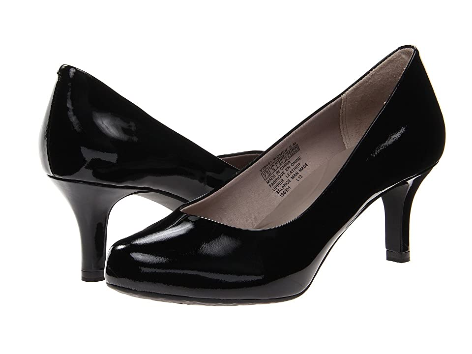 Rockport Seven to 7 Low Pump (Black Patent) High Heels