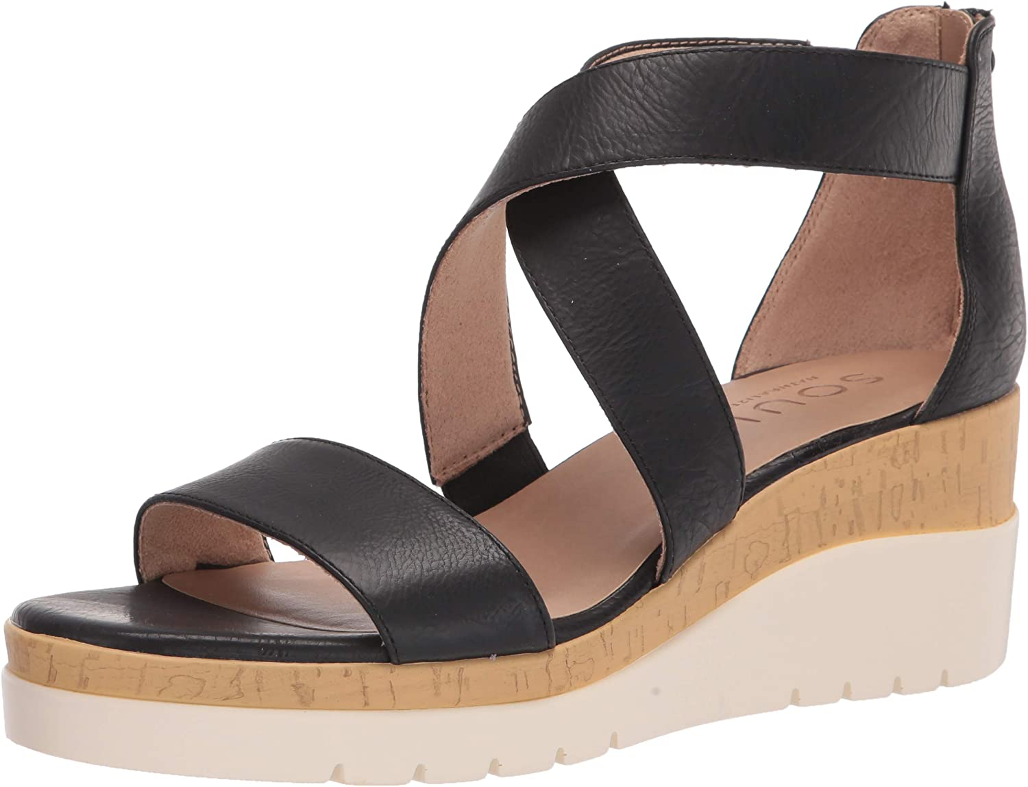 SOUL Popularity Naturalizer Women's Sandal Wedge Goodtimes Max 55% OFF