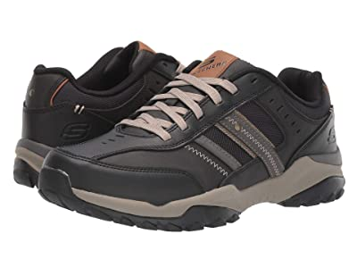 SKECHERS Relaxed Fit Henrick Delwood (Black) Men