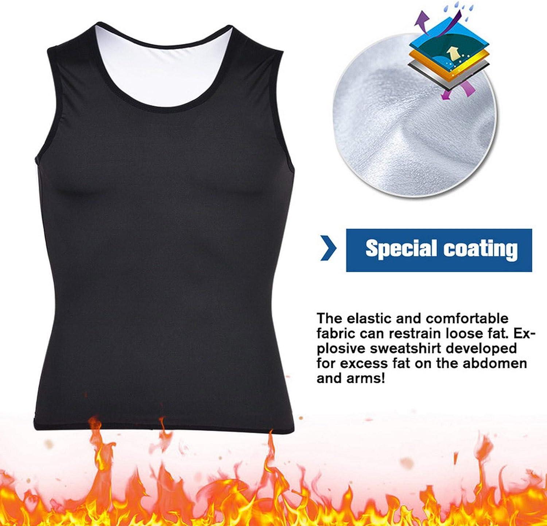 Zainafacai Waist Trainer for Women, 2Pc Men Shapewear Slimming Body Shaper Compression Shirt Tank top Tummy Control Underwear
