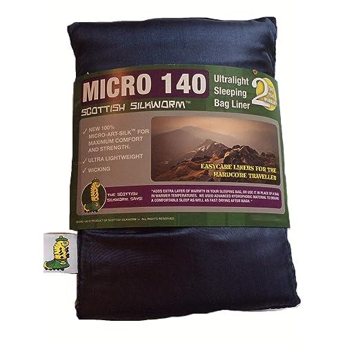 Scottish Silkworm Micro - Art Silk Sleeping Bag Liner