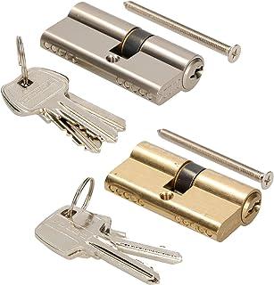 KOTARBAU Sluitcilinder 30/50 nikkel cilinderslot profielcilinder deurcilinder slot slot slot slot dubbele cilinder messing