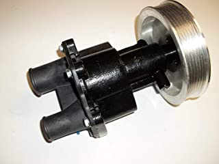 RPS-GLM Belt Driven Raw Sea Water Impeller Pump for Mercruiser Marine 4.3 5.0 5.7 8.1 L with Bolt on Aluminum Serpentine Belt Pulley