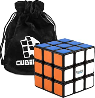Rubiks 3×3 Speed Cube – Der originale 3x3x3 Rubik Zauberwürfel mit Beutel,..