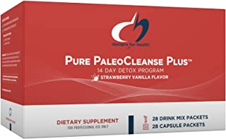 Designs for Health Pure PaleoCleanse Plus 14 Day Detox Program - Beef Protein, Amino-D-Tox + Detox Antioxidant Powder Pack...