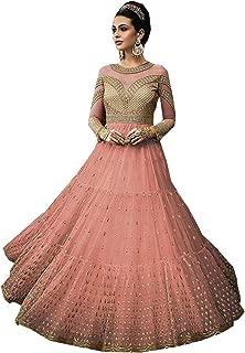 ZABIYACOUTURE New Indian/Pakistani wear Anarkali Gown for Woman Glossy 15005