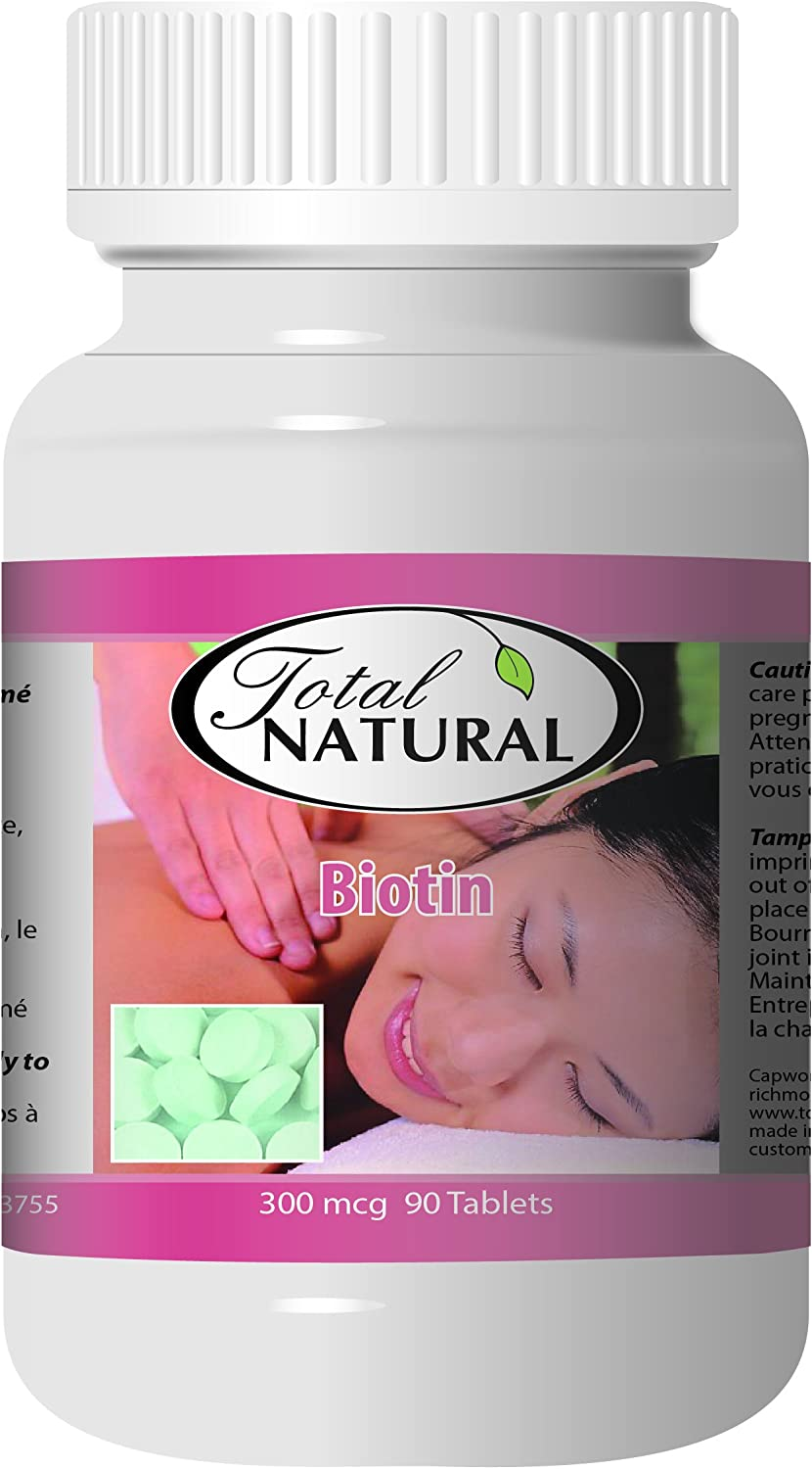 Biotin 300mcg 90t 12 Bottles by Nail Care Total Fixed price for sale Natural Max 45% OFF Skin