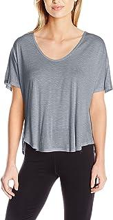 Calvin Klein Women's Spacedye Jersey Tee with Inner T-Back