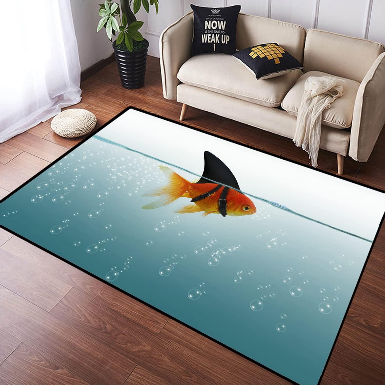 ZOMOY Long Floor cheap Mat Carpet Fish Goldfish Ocean online shopping for Animals Sea