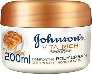 JOHNSON'S, Body Cream, Vita-Rich, Smoothies, Comforting, 200ml