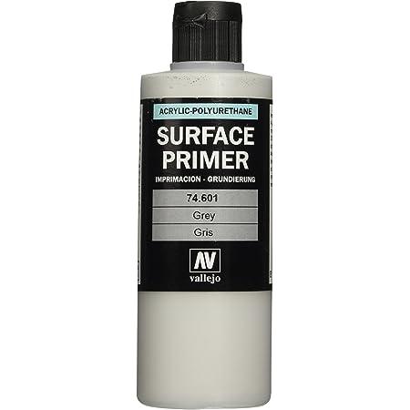 Vallejo Grey Primer Acrylic Polyurethane, 200ml