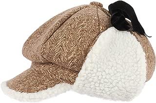 E.Joy Online Adjustable Warm Fleece Earflap Winter Baseball Cap Men Women Waterproof Outdoor Hunting Cap