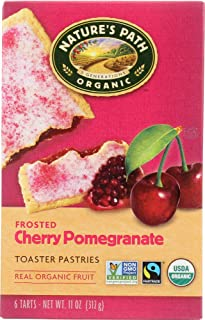 Nature's Path (NOT A CASE) Organic Frosted Cherry Pomegranate Toaster Pastries