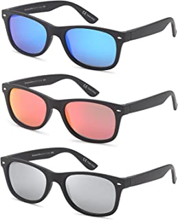 Gamma Ray Polarized Sunglasses 3 Pairs Color and Mirrored...