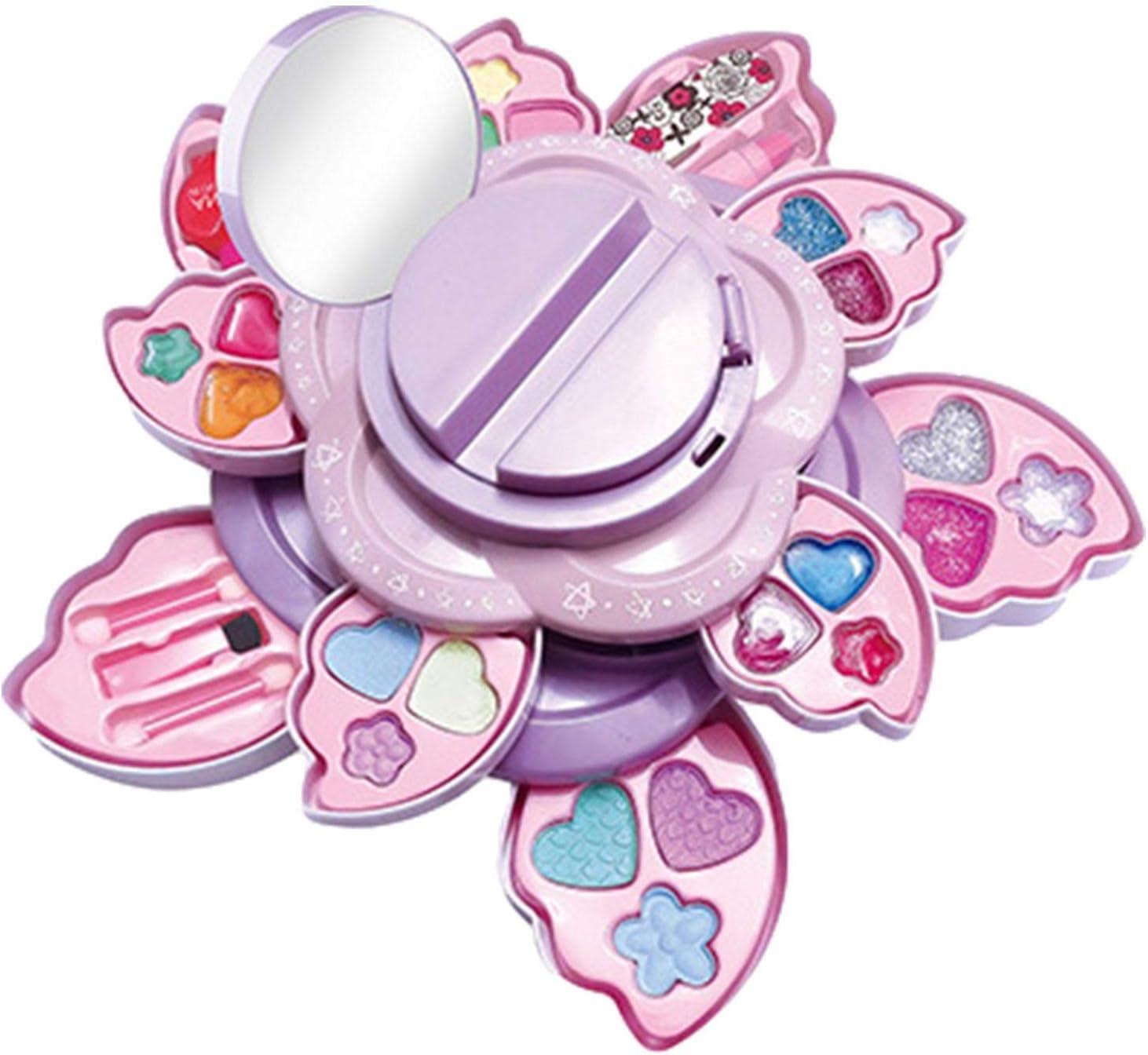 A Kids Super intense SALE Makeup Toy Kit for Set Cosmetic Play Girls 2021 model Mak Pretend