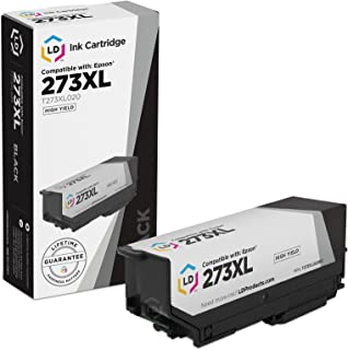LD Products Remanufactured Ink Cartridge Replacement for Epson T273XL  ( Black , 1 pk )