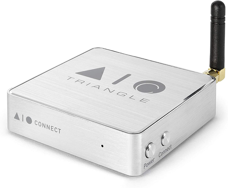 Triangle AIO C Streamer Musical Compacto Salida Óptica/Analógica Tidal Deezer Spotify App Dedicada gratis en el móvil