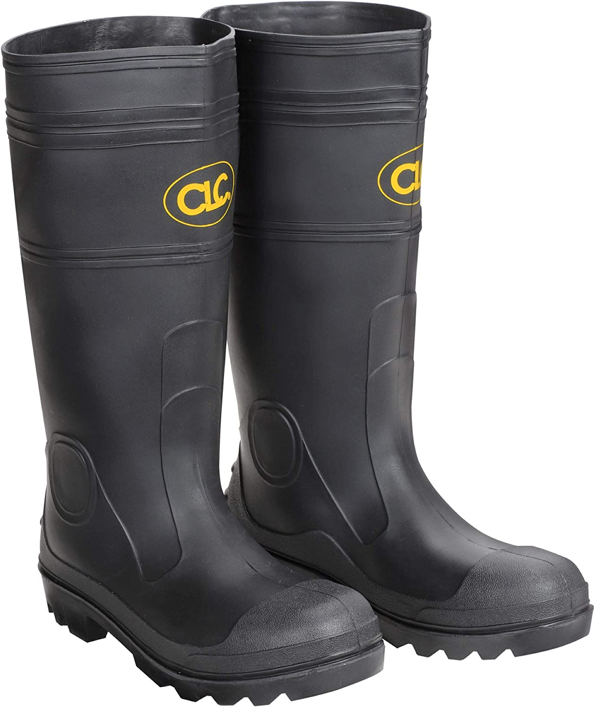 Amazon.com: CLC Custom Leathercraft Rain Wear R230 Over The Sock Black PVC Men's  Rain Boot, Size 11: Home Improvement