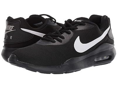 Nike Air Max Oketo (Black/White/Metallic Silver) Men