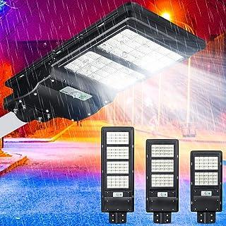 BBZZ Lampe solaire d'extérieur étanche 80/120/160 LED à énergie solaire Détecteur de mouvement PIR Couleur : 80 LED