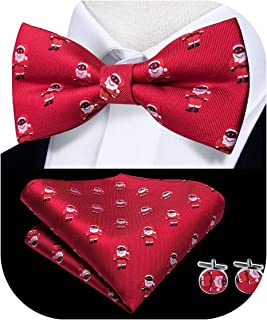Best red christmas bow tie Reviews