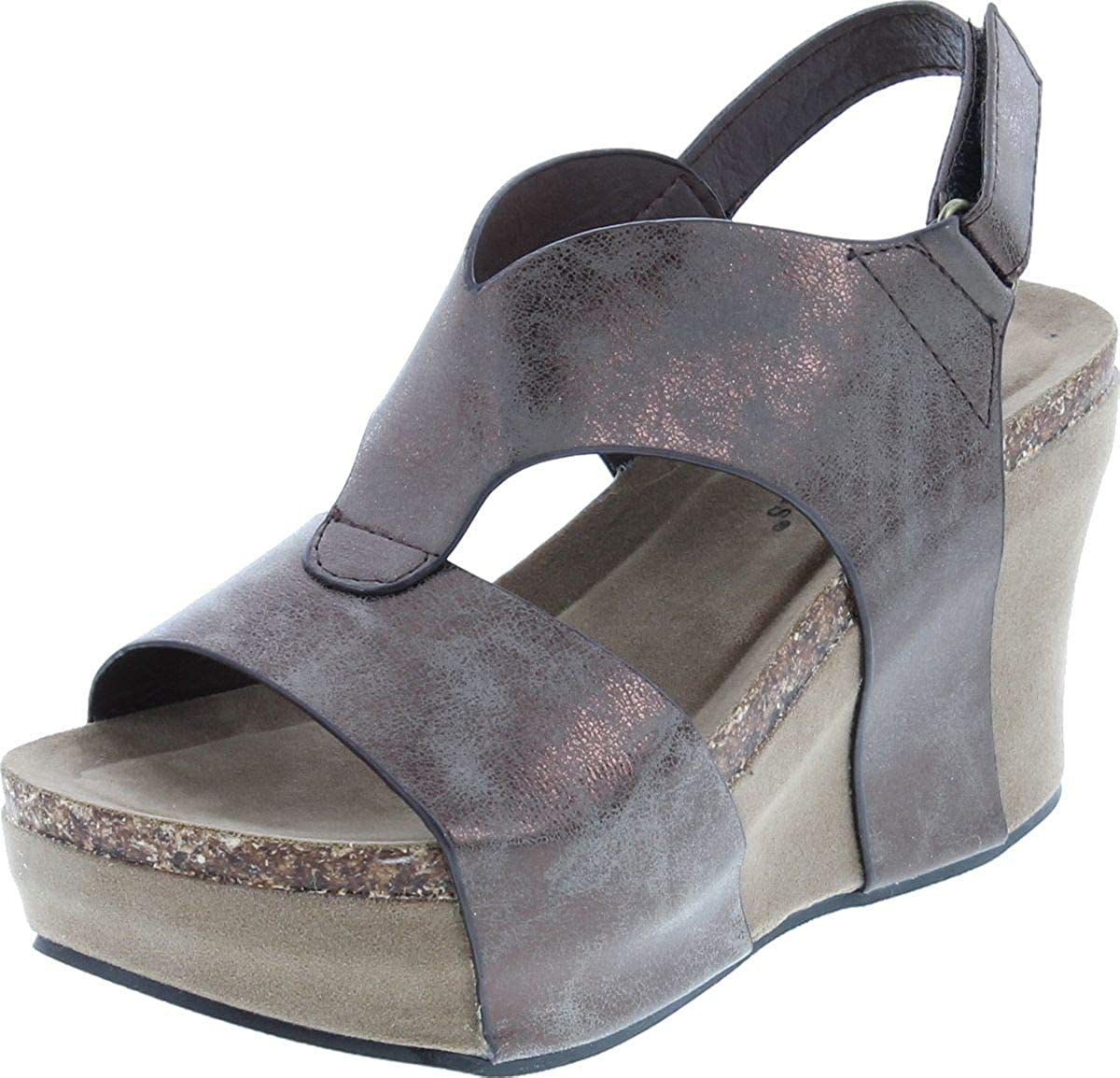 Pierre Dumas Women's Hester-6 Our shop OFFers the best Indianapolis Mall service Sandal Wedge