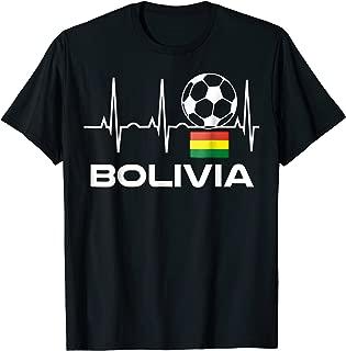 Bolivia Soccer Jersey T-Shirt - Best Bolivian Football Tee