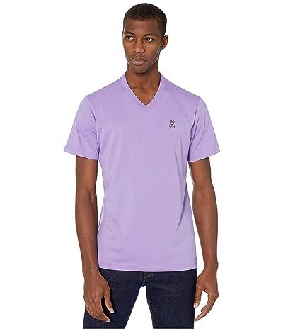 Psycho Bunny Classic V-Neck T-Shirt (Helio) Men