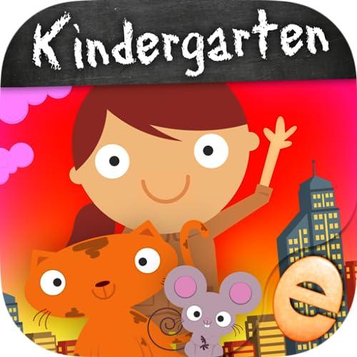 Tierkindergarten, Mathe-Spiele Für Kinder In Pre-K, Kindergarten Und 1. Klasse Lernen Nummern, Zählen, Addition Und Subtraktion Premium