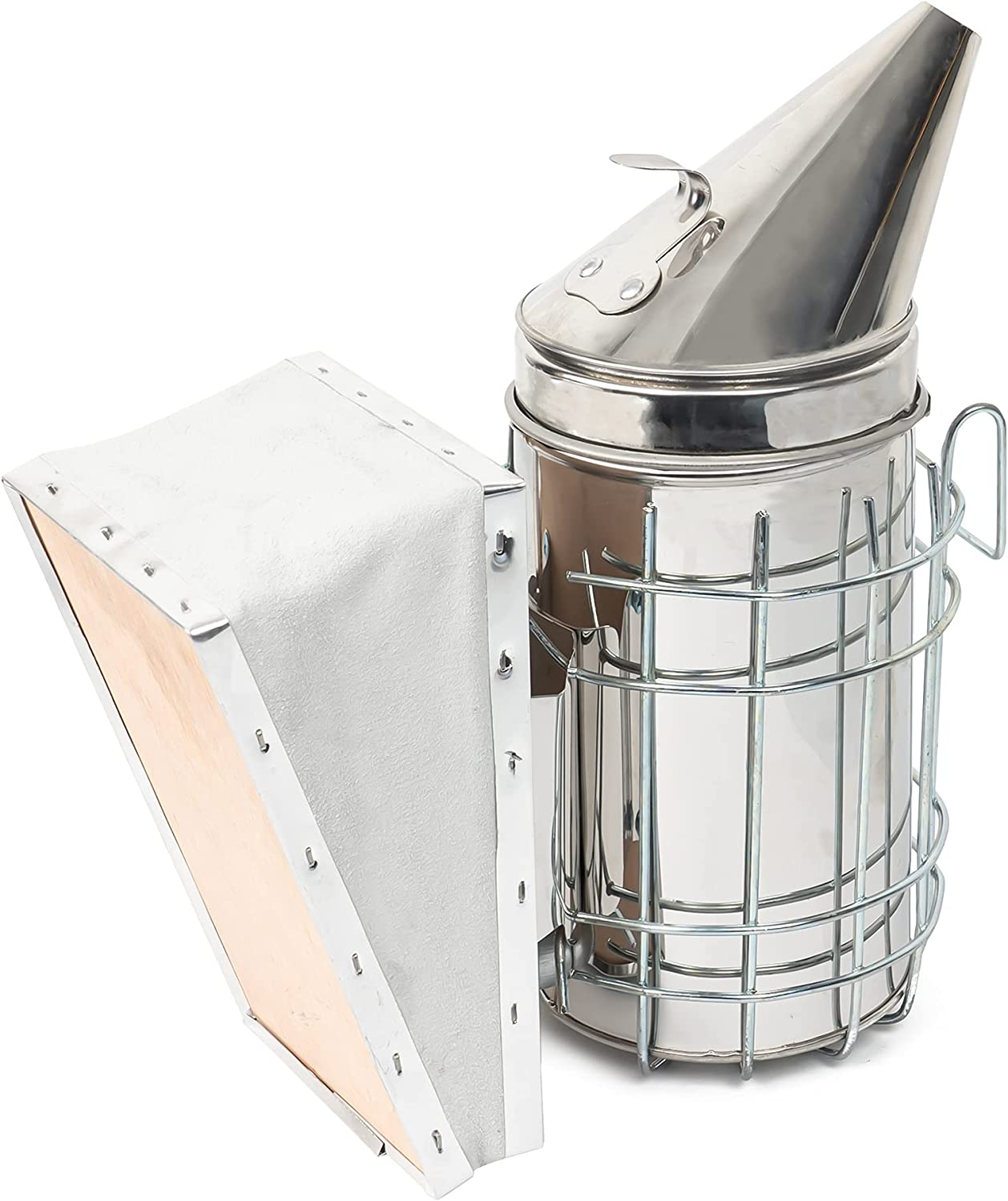 Max 90% OFF Max 61% OFF FUNPENY Bee Hive Smoker Supplies Steel Equ Beekeeping Stainless
