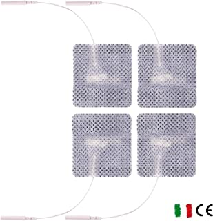 Coppia Adattatori da Clip femmina 3,6mm a Clip femmina standard 4mm per elettrodi compex