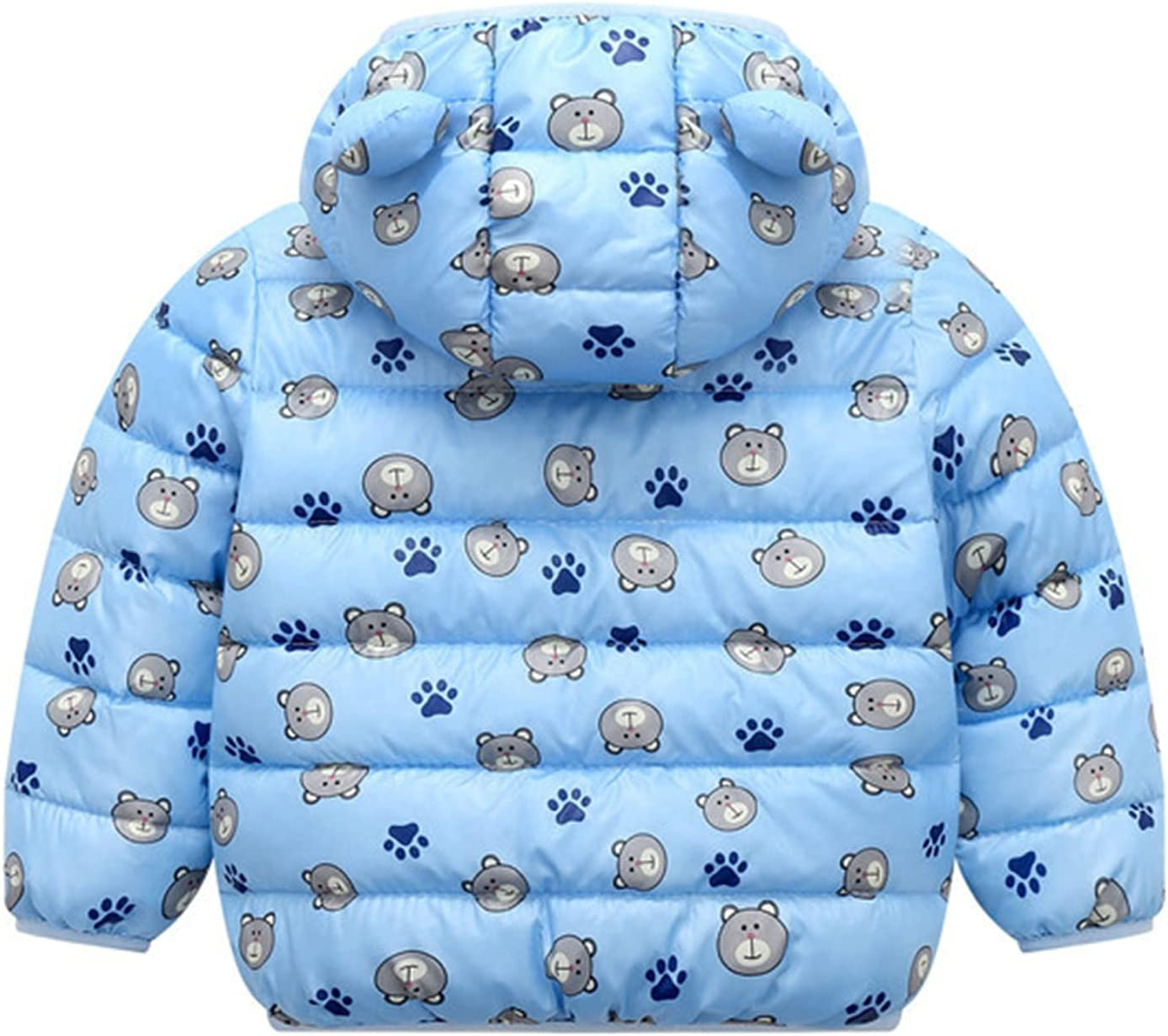 Winter Coats for Kids Baby Raleigh Mall Boys Light OFFicial mail order Girls Puffer Padded Jacket