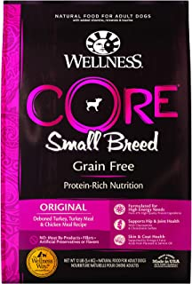 Wellness Core Natural Grain Free Dry Dog Food Small Breed